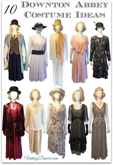 What to wear 1920s roaring twenties gatsby themed event 10 downton abbey costume ideas for women at vintagedancer com diy thrifted and new solutioingenieria