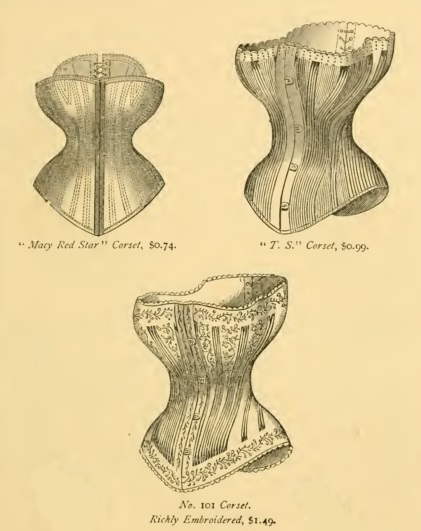 1877 Victorian corsets (Red or white)