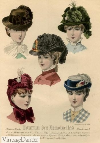 undefeated x sale for whole family Victorian Hat History | Bonnets, Hats, Caps 1830-1890s