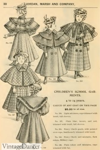 1895 children's coats and jackets