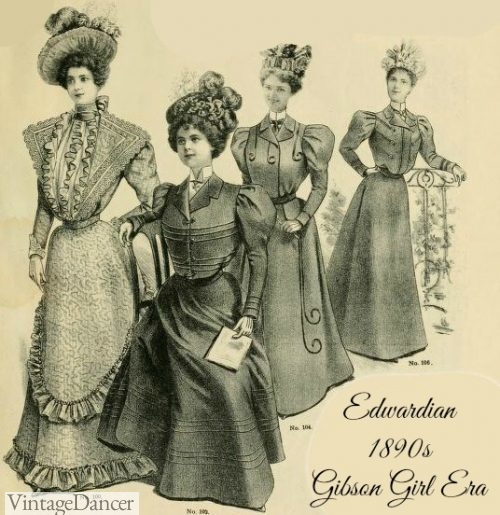 Gibson Girl Era Clothing
