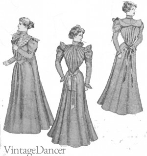 Victorian Edwardian Tea Dress and Gown Guide e338b5904