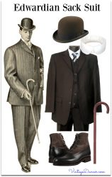 1900s Edwardian Mens Clothing, Costume & Workwear Ideas