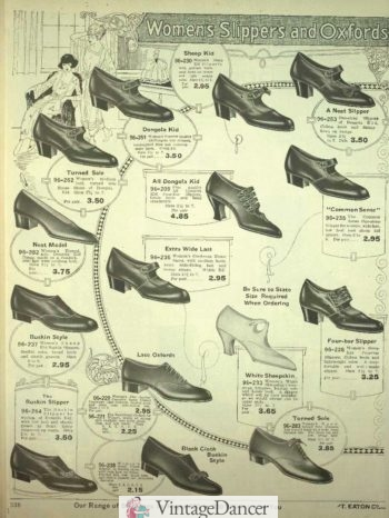 1920 mens shoes, low heel