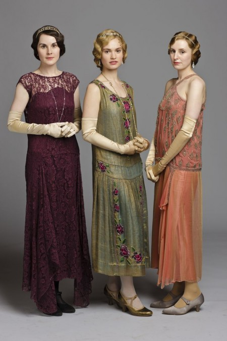 Image result for downton abbey wardrobe/20s