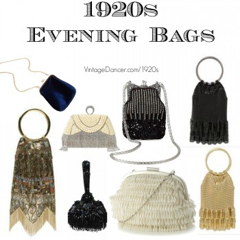 1920s Inspired Evening Bags Fler Purses Found At Vvintagedancer Com Style