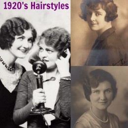 1920s Hairstyles History- Long Hair to Bobbed Hair