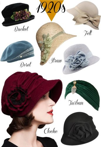 1920s Miss Fisher Murder Mysteries Style Hats