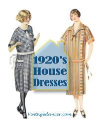 1920s Day / House Dresses and Aprons