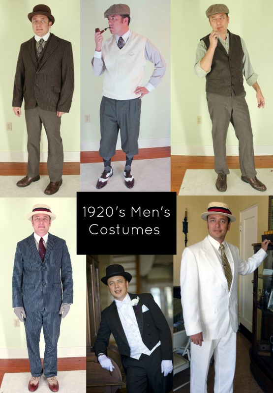 How To Make 1920s Mens Costumes