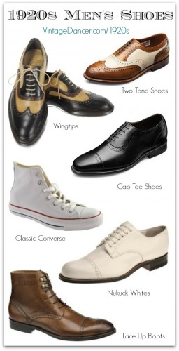 Men's 1920s shoe styles you can buy today. Wear them for a great Gatsby, Downton Abbey, or Boardwalk Empire style. Find these at Sahafah24.info/1920s