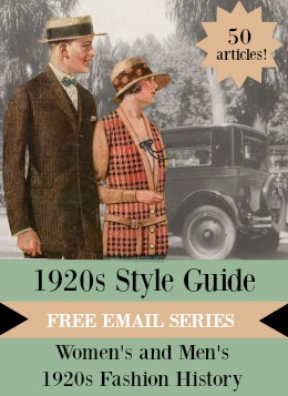 1920s Style Guide- Free email sieres- 1920s fashion history!