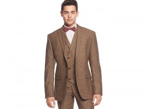 1920s Style Mens Suit Vest Shirt And Bow Tie Find It More