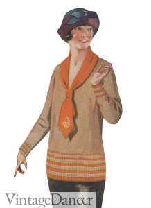 1920s Ladies Sweater