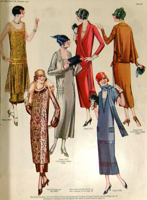 1920s winter dresses
