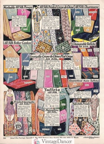 1927 solid dress fabrics