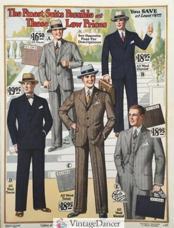 b5212b91c8f75f 1920s Men's Fashion: What did men wear in the 1920s?