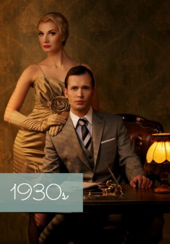 1930s vintage style clothing women men