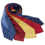 1930s mens ties dots print