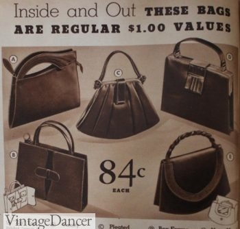 1930s Handbags And Purses History With Pictures