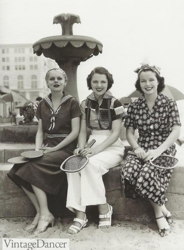 Fashion from 1930s for women