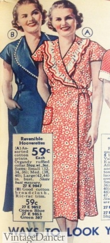 1937 Hooverette house dresses