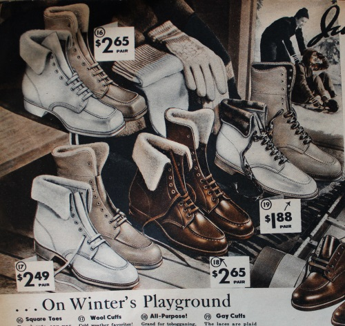 Vintage Boots- Winter Rain and Snow Boots