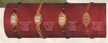 1940s Elgin brand women's watches