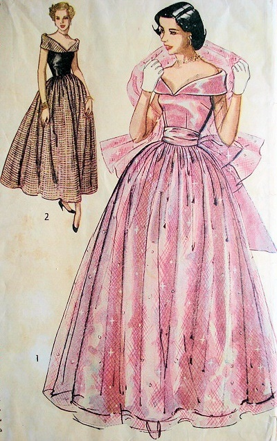 1940s Formal Dresses, Evening Gowns History