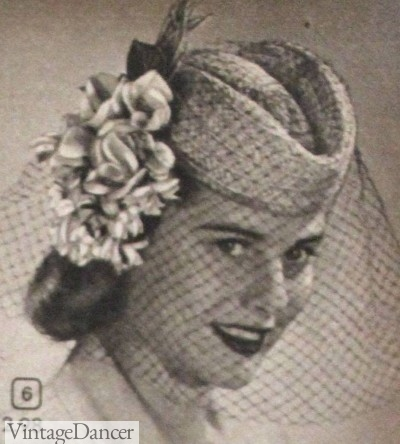 1940s scottie hat