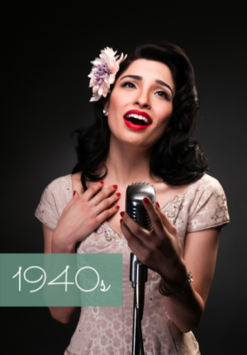 1940s clothing costumes outfits fashion