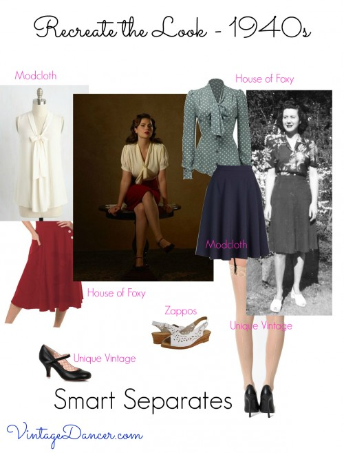 Channel your inner Agent Carter with these smart separates