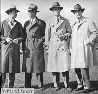 1940s Men S Fashion Clothing Styles
