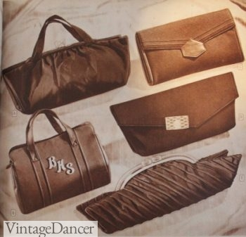 1940s evening bag and purses. 1944 evening purses 8b4b45ade47a0