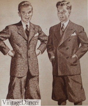1940s teen boys knickers
