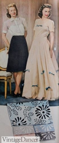 1940s bridesmaid dresses simple or formal