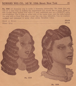 1940s african american hair wigs