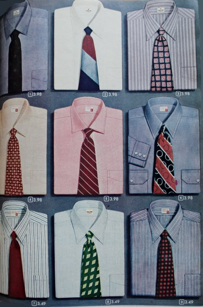 1940s Men's Dress Shirts & ties 1948 at VintageDancer.com