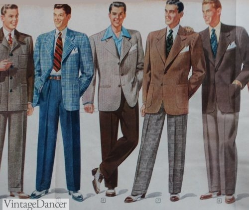 1948 Men's Semi Casual Fashion