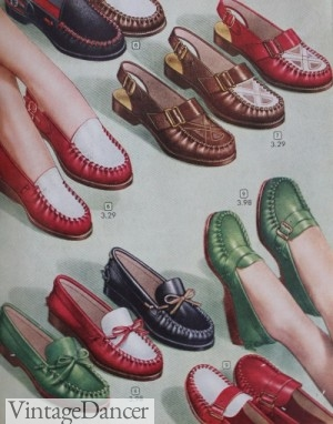 1940s loafers