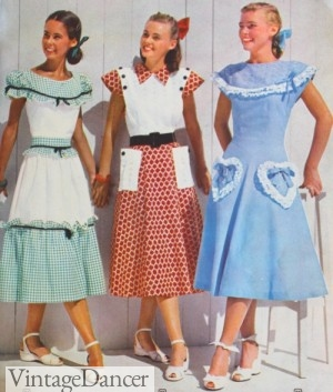Vintage clothes for teenage girls