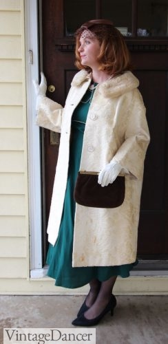 Vintage 50s coat outfit