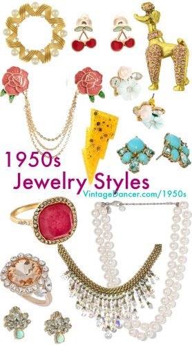 8e38fbdb216 1950s Jewelry Styles and History