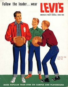 1950s Levi's jeans add