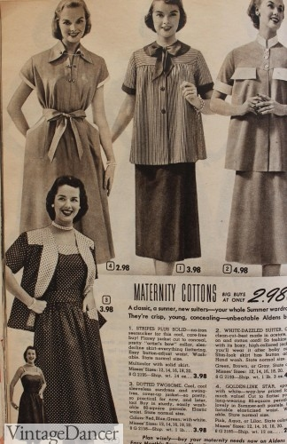 1950s maternity dresses clothing