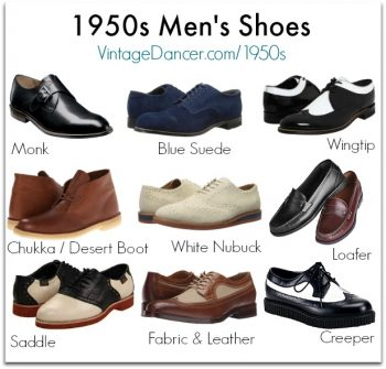1950s mens shoes style you can buy today. Shop now at VintageDancer.com/1950s