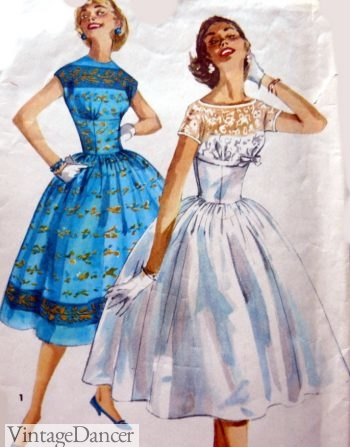 1950s Vintage Wedding Dresses & Shoes History