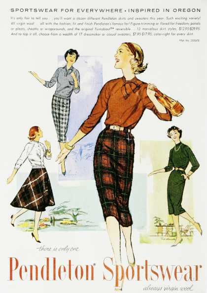 Vintage Skirts – Pictures from 1900 to 1950s
