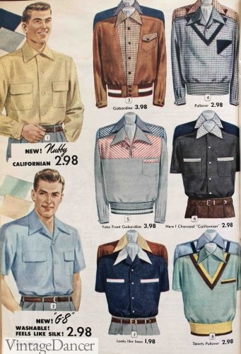 557f9aa26b5 Men s 1950s Clothing History  Casual Fashion