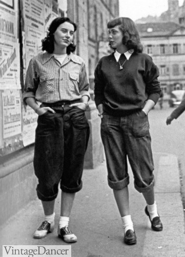 1950s teen fashion